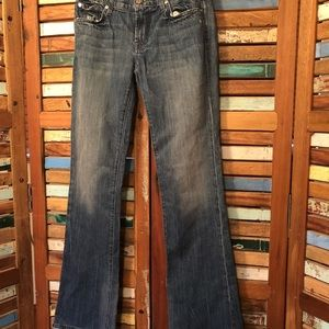 7 for all mankind boot cut women jeans, Size 28